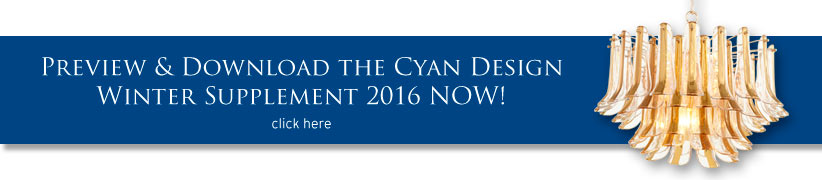 Preview and Download Cyan Design 2015 Winter Supplement Catalog